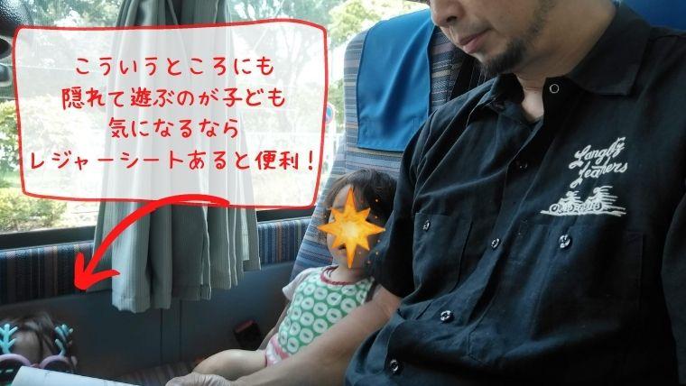 赤ちゃん高速バス・夜行バスいたずら